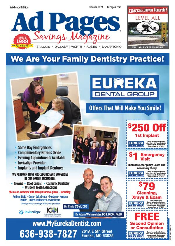Wildwood/Ellisville/Eureka, MO Ad Pages Savings Magazine