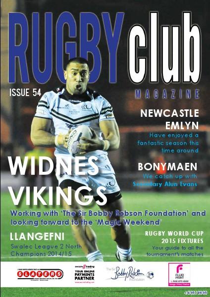 Rugby Club Issue 54