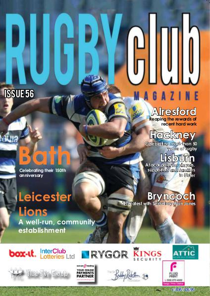 Rugby Club Issue 56