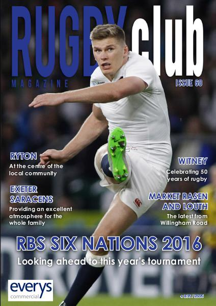 Rugby Club Issue 60