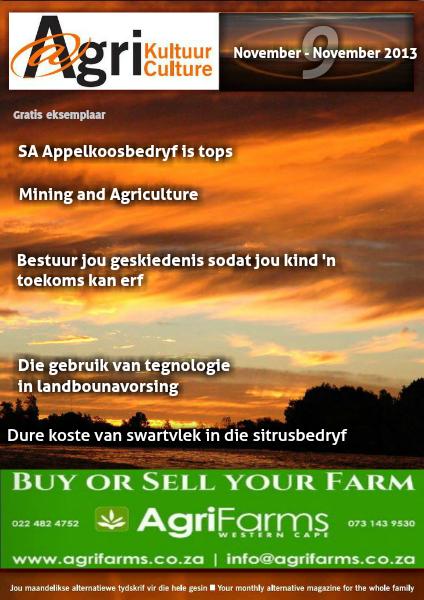 Agri Kultuur November 2013