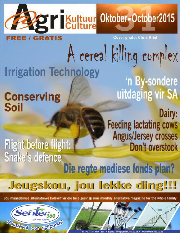 Agri Kultuur October / Oktober 2015