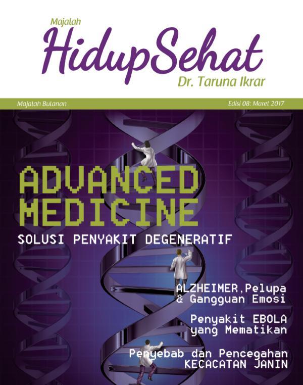 Majalah Hidup Sehat Vol 8: Maret 2017