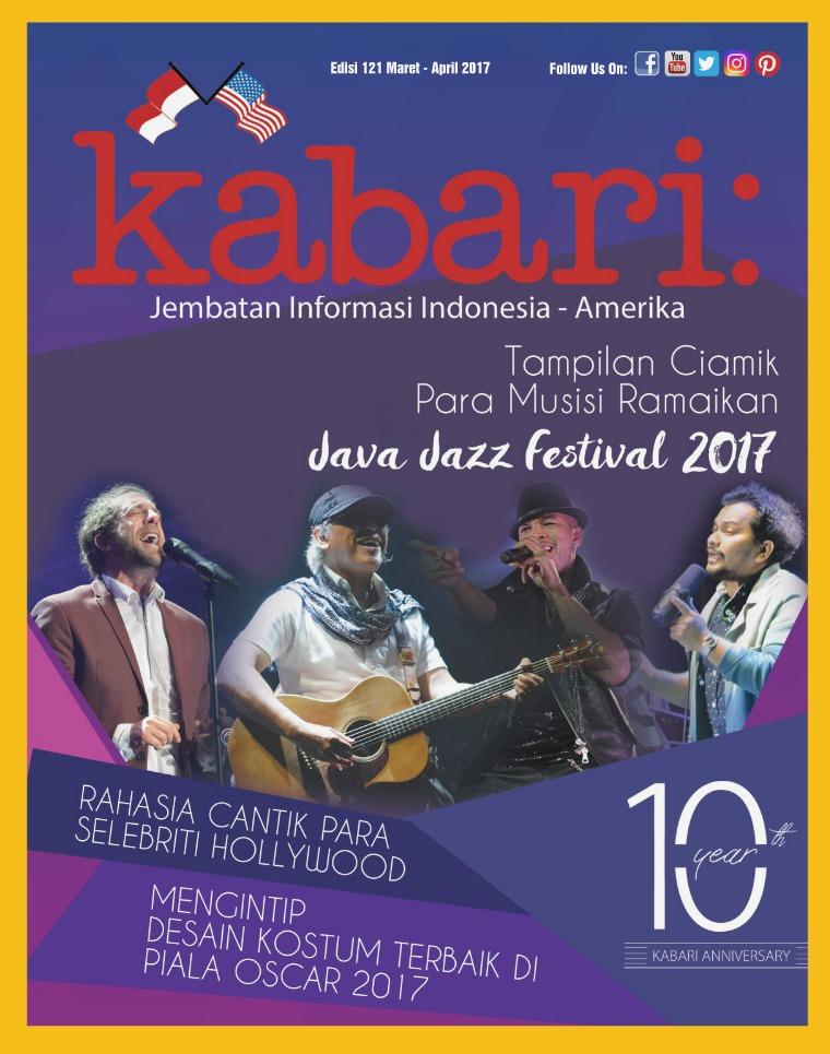 Majalah Kabari Vol 121 Maret - April 2017