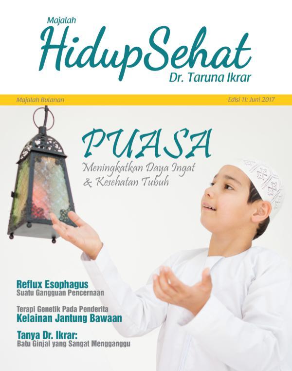 Majalah Hidup Sehat Vol 11: Juni 2017