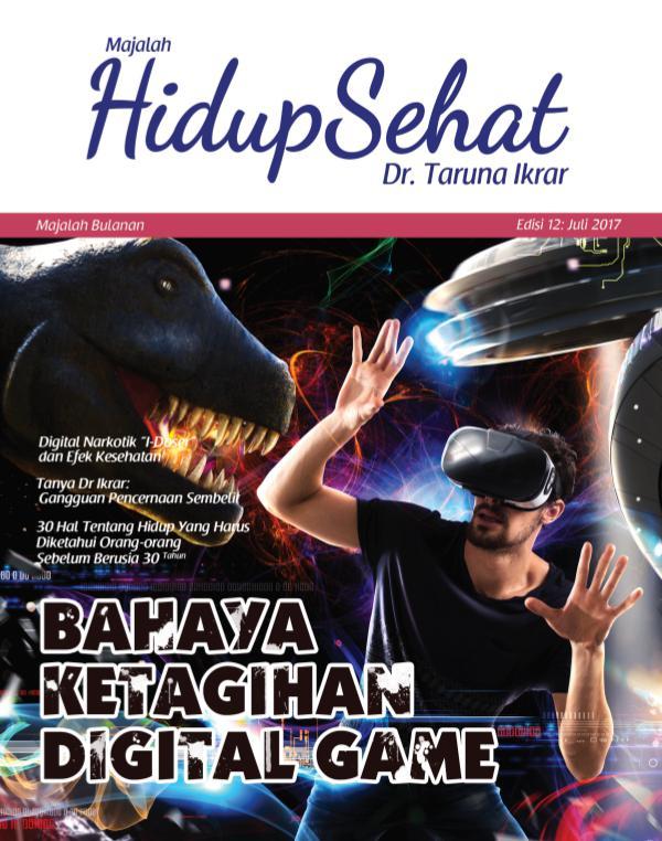 Majalah Hidup Sehat Vol 12: Juli 2017