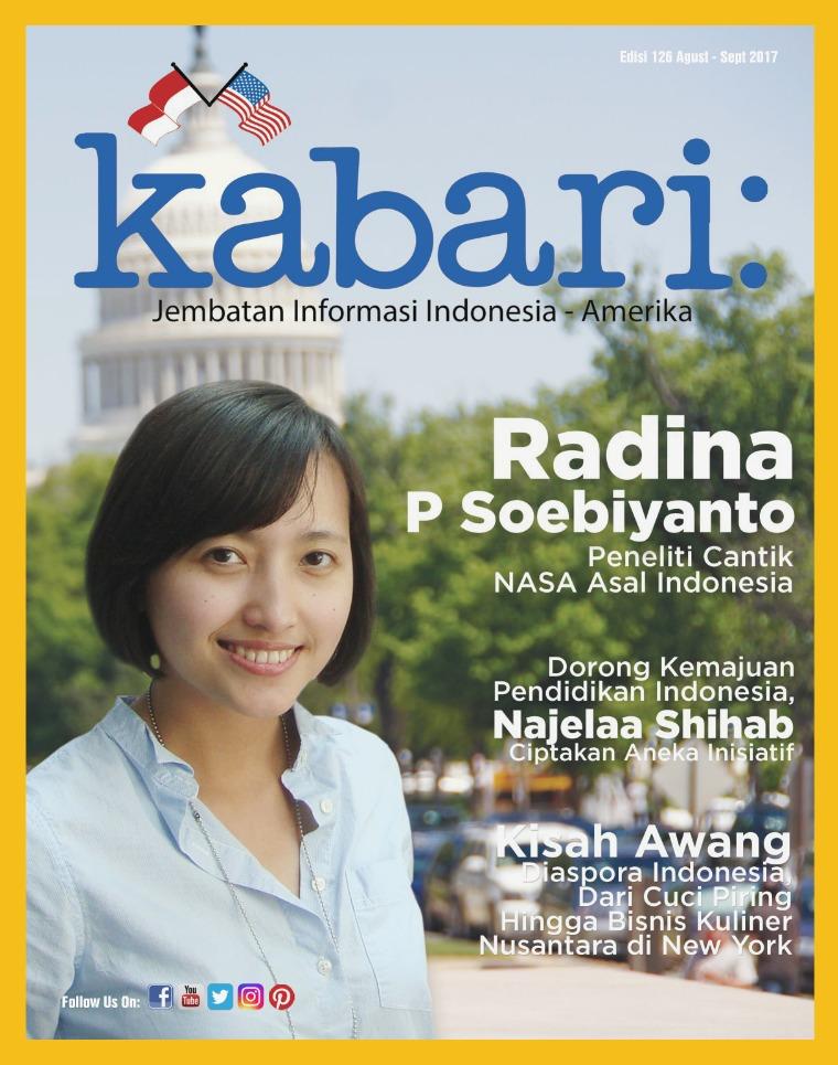 Majalah Kabari Vol 126 Agustus - September 2017