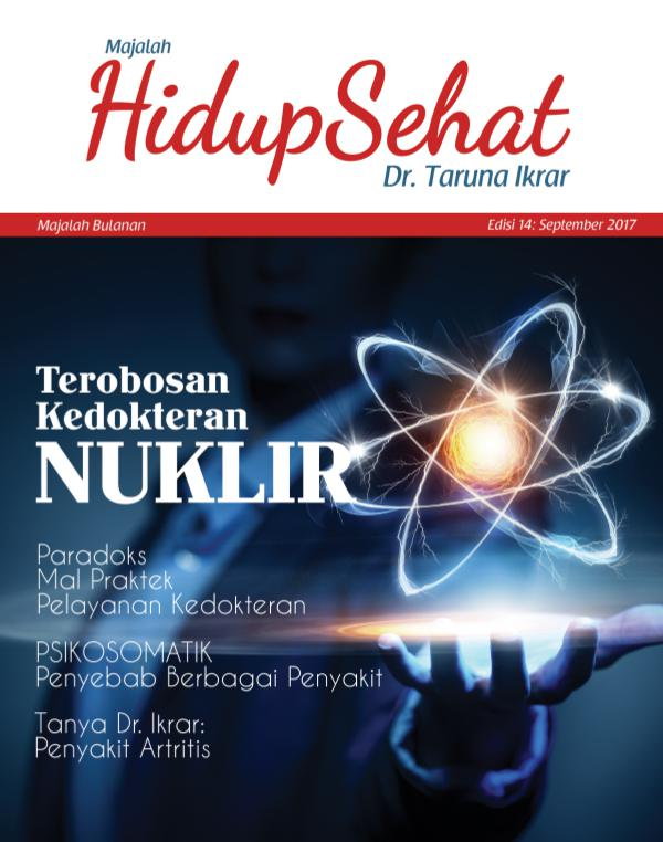Majalah Hidup Sehat Vol 14: September 2017