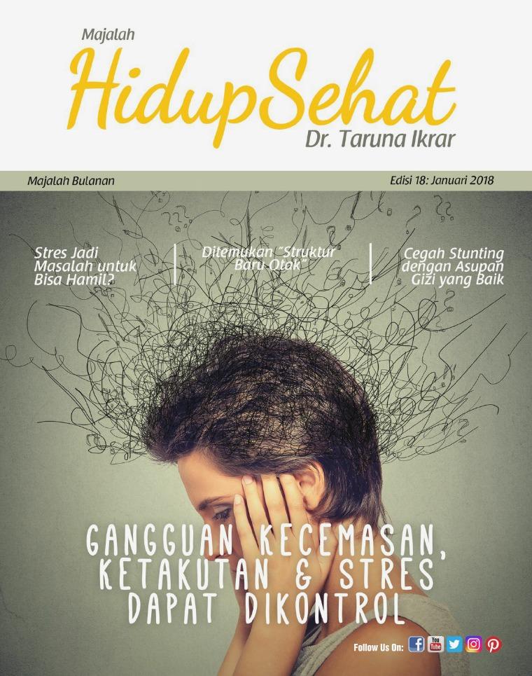 Majalah Hidup Sehat Vol 18: Januari 2018