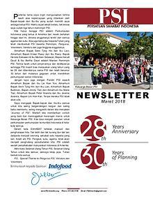 Newsletter PSI (Persatuan Sahabat Indonesia)