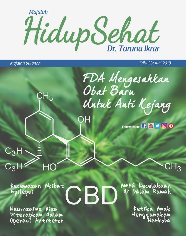 Majalah Hidup Sehat Vol 23: Juni 2018