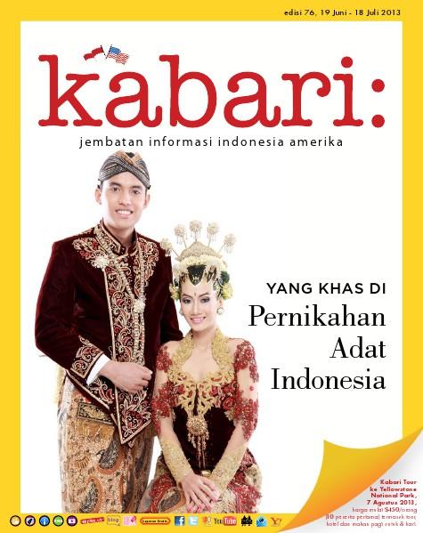 Majalah Digital Kabari Vol: 76 Juni - Juli 2013