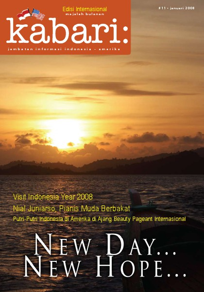 Majalah Digital Kabari Vol: 11 Januari - Februari 2008