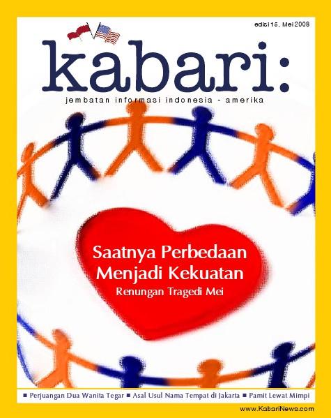 Majalah Digital Kabari Vol: 15 Mei - Juni 2008
