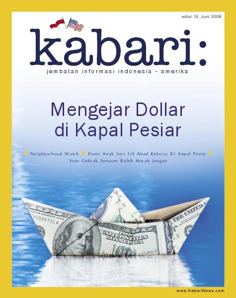 Majalah Digital Kabari Vol: 16 Juni - Juli 2008