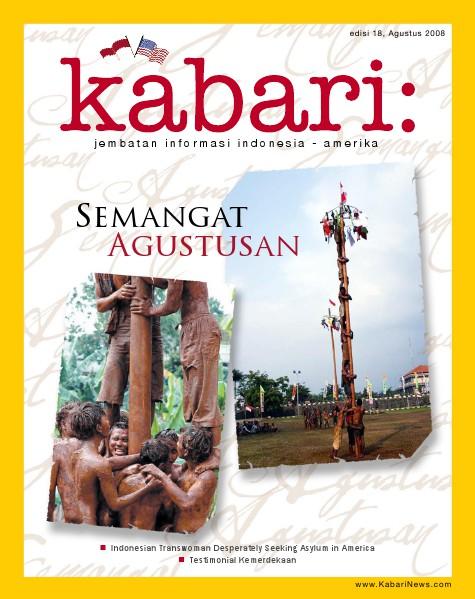 Majalah Digital Kabari Vol: 18 Agustus - September 2008