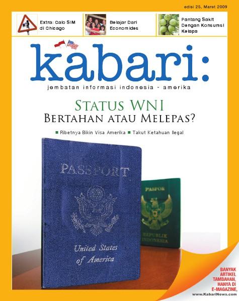 Majalah Digital Kabari Vol: 25 Maret - April 2009