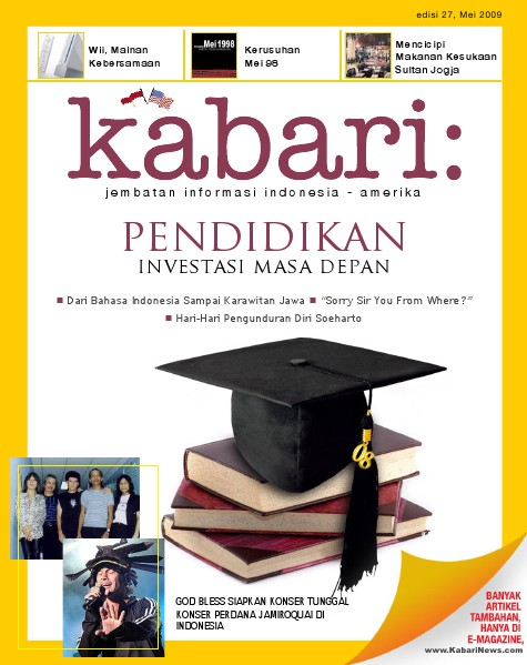 Majalah Digital Kabari Vol: 27 Mei - Juni 2009