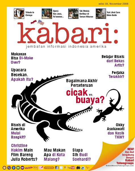 Majalah Digital Kabari Vol: 33 November - Desember 2009