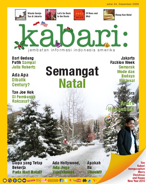 Majalah Digital Kabari Vol: 34 Desember 2009 - Januari 2010