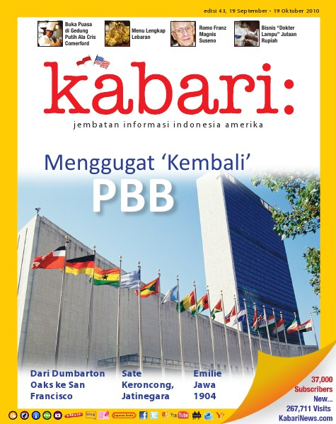 Majalah Digital Kabari Vol: 43 September - Oktober 2010