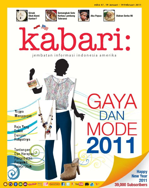 Majalah Digital Kabari Vol: 47 Januari 2010 - Februari 2011