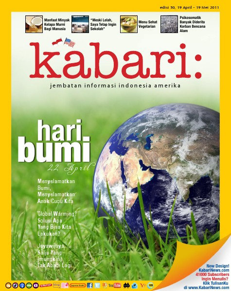 Majalah Digital Kabari Vol: 50 April - Mei 2011