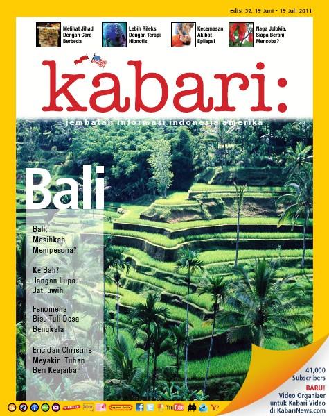 Majalah Digital Kabari Vol: 52 Juni - Juli 2011