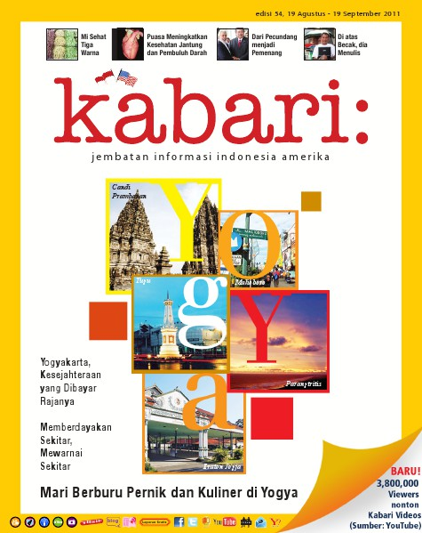 Majalah Digital Kabari Vol: 54 Agustus - September 2011
