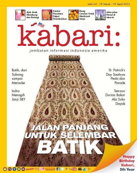 Majalah Digital Kabari Vol: 61 Maret - April 2012