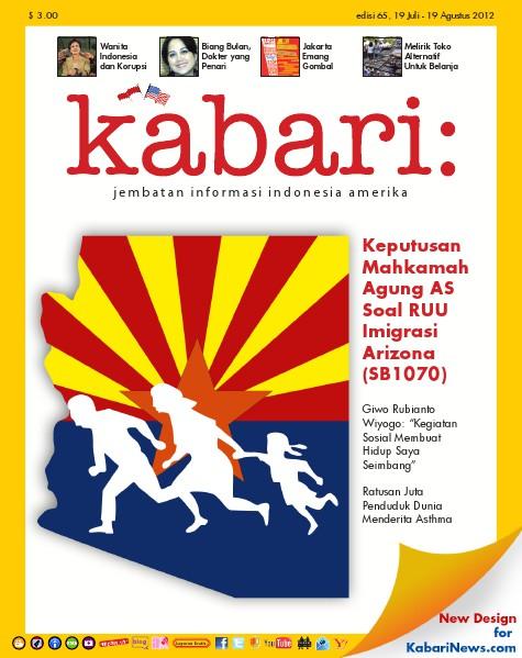 Majalah Digital Kabari Vol: 65 Juli - Agustus 2012