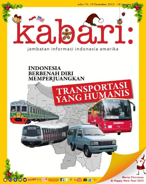 Majalah Digital Kabari Vol: 70 Desember 2012 - Januari 2013