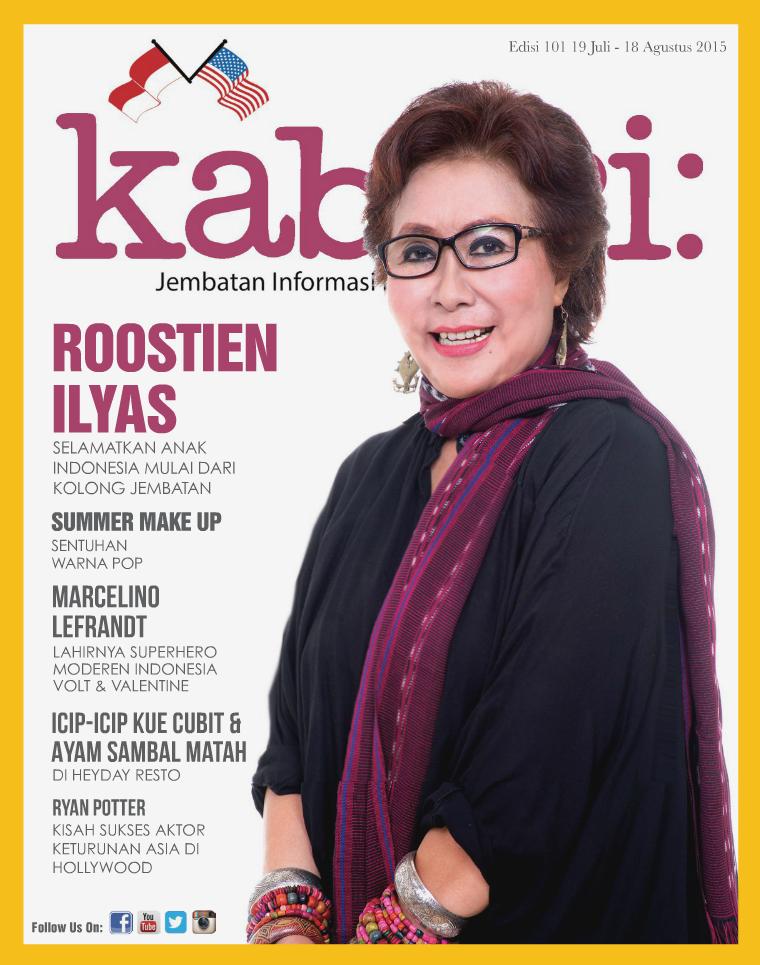 Majalah Kabari Vol: 101 Juli - Agustus 2015