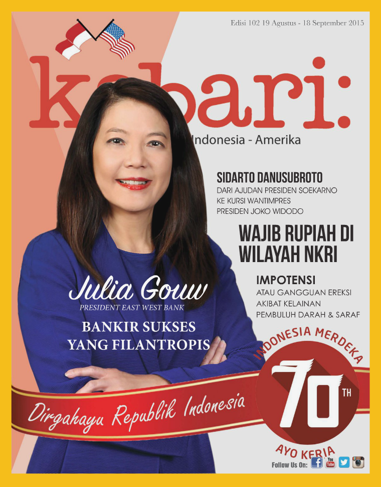 Vol: 102 Agustus - September 2015