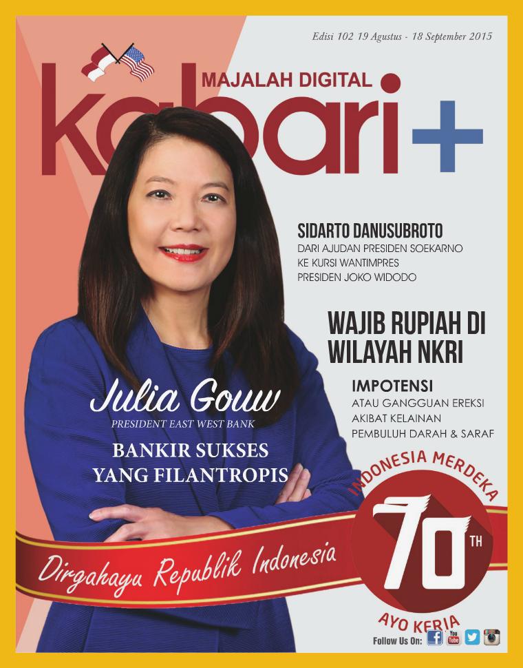 Majalah Digital Kabari Vol 102 Agustus - September 2015