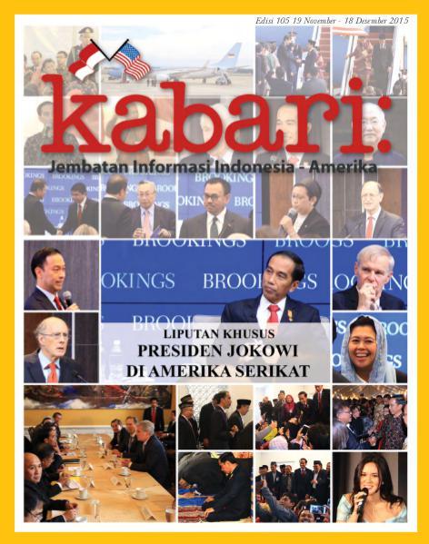 Majalah Kabari Vol 105 November - Desember 2015