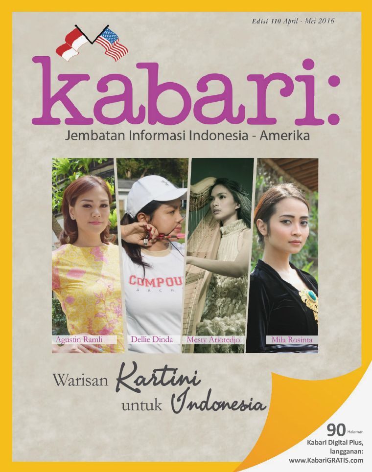 Majalah Kabari Vol 110 April - Mei 2016