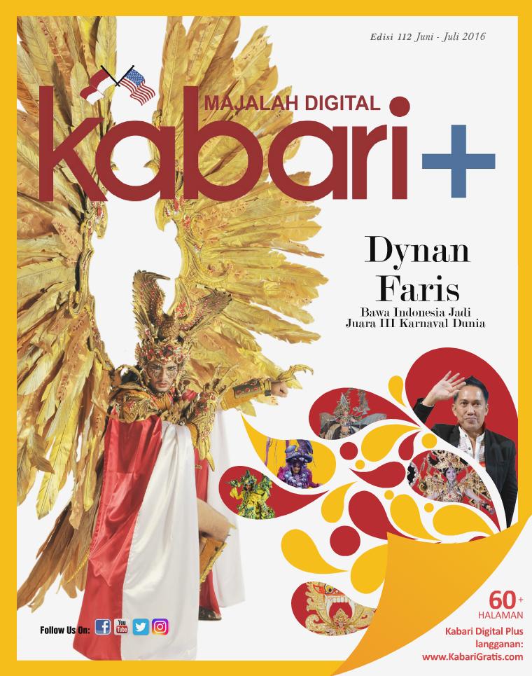 Majalah Digital Kabari Vol 112 Juni - Juli 2016
