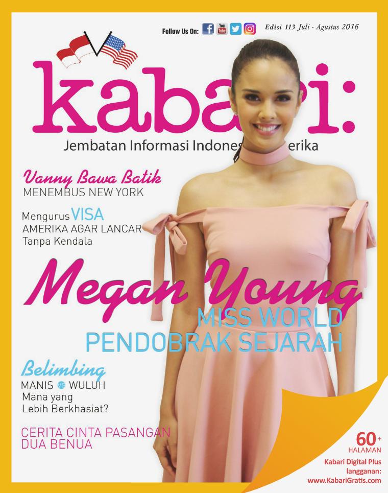 Majalah Kabari Vol 113 Juli - Agustus 2016