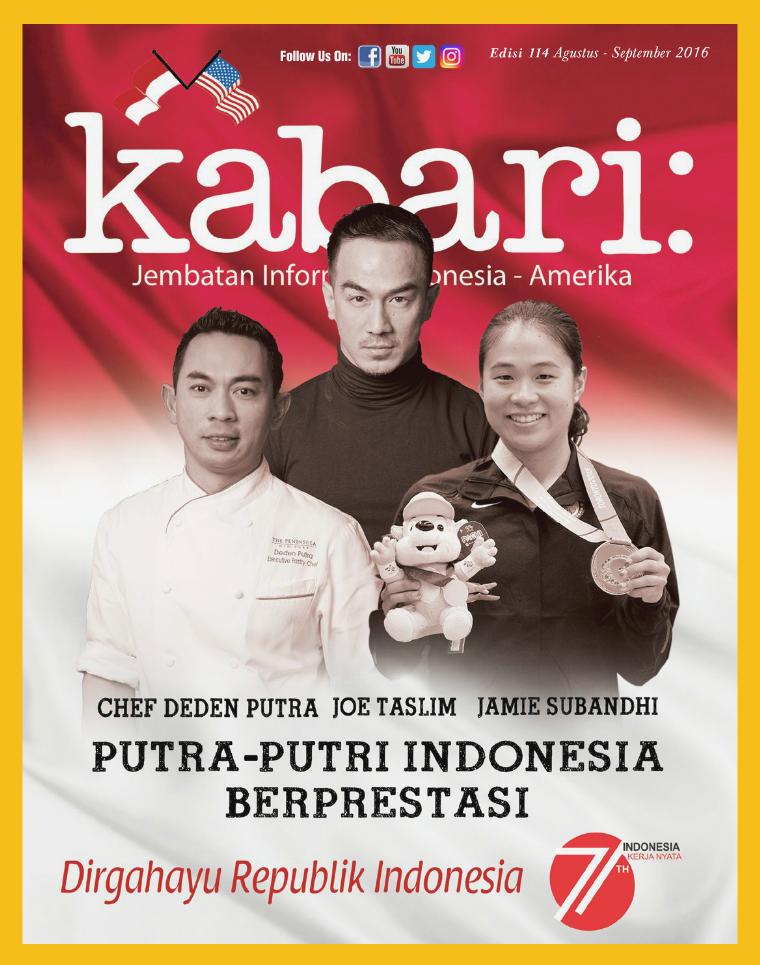 Majalah Kabari Vol 114 Agustus - September 2016
