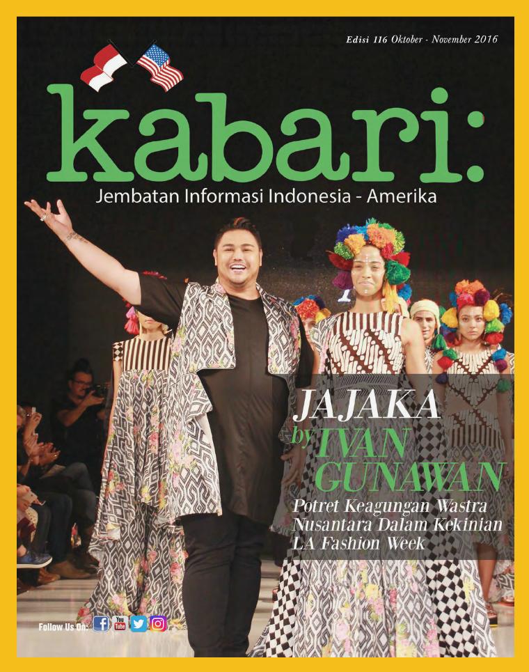 Majalah Kabari Vol 116 Oktober - November 2016