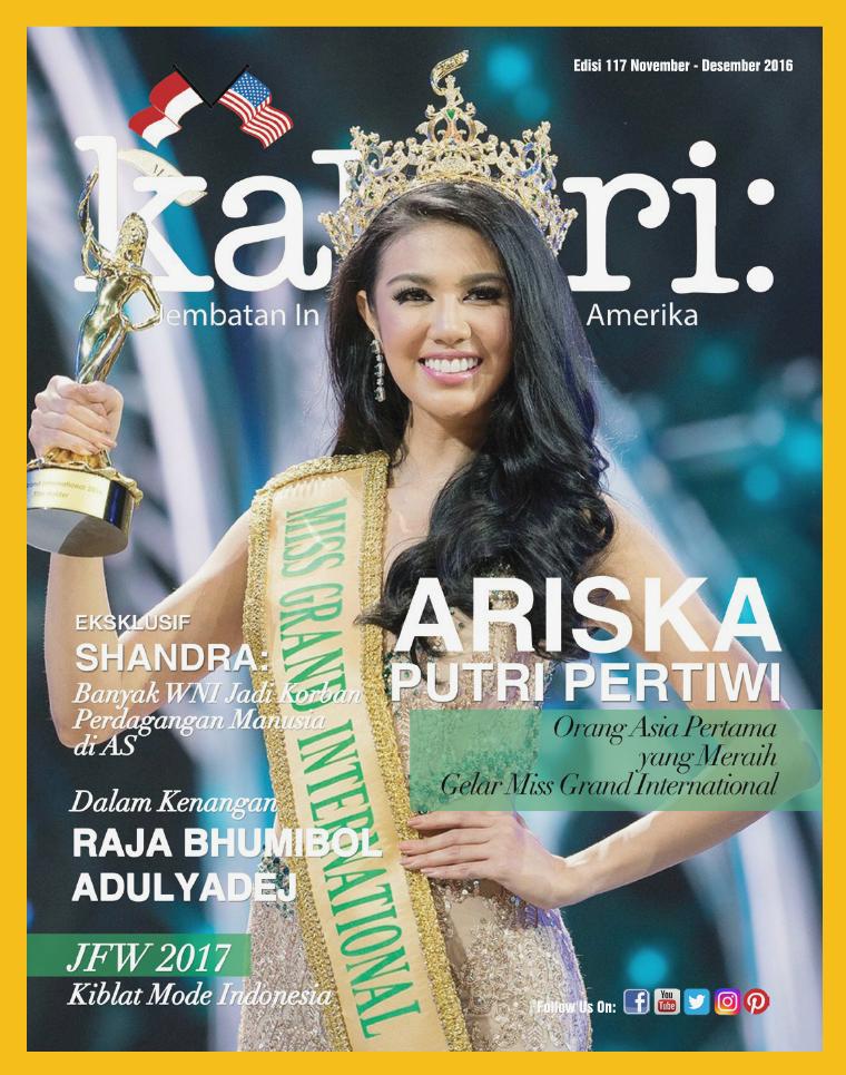 Majalah Kabari Vol 116 November - Desember 2016
