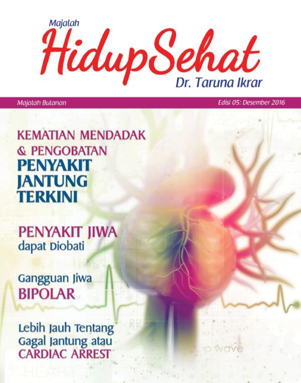 Majalah Hidup Sehat Vol 5 Desember 2016