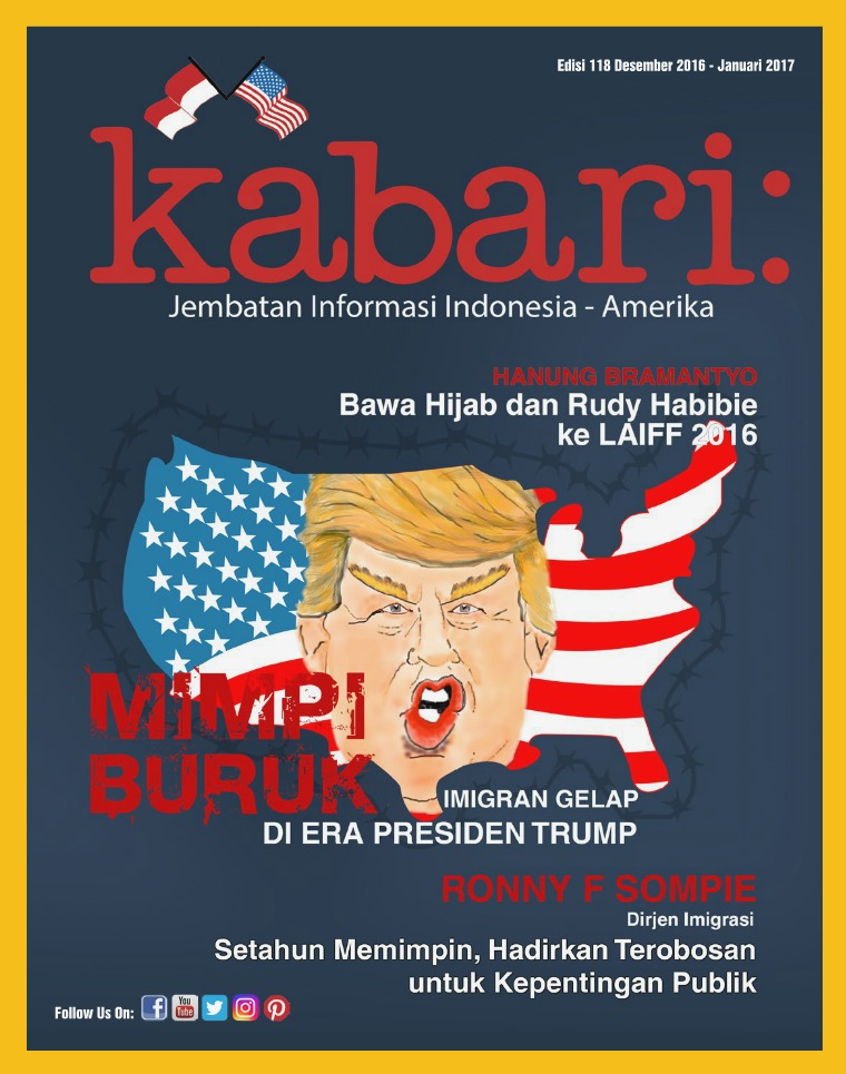 Majalah Kabari Vol 118 Desember 2016 - Januari 2017