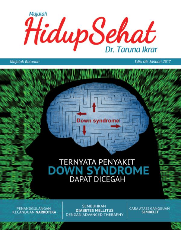 Majalah Hidup Sehat Vol 6: Januari 2017