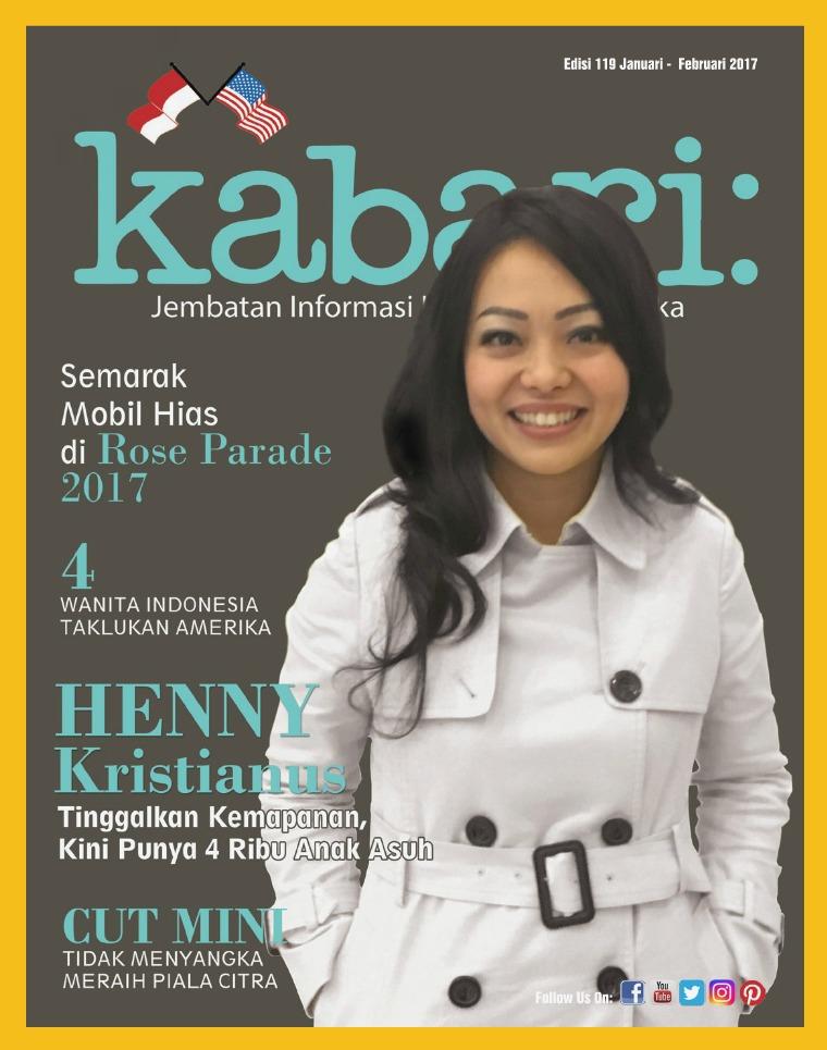 Majalah Kabari Vol 119 Januari - Februari 2017