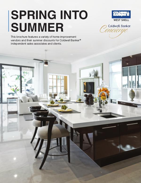 Concierge Spring Brochure KT Coldwell Banker West Shell Concierge Summer