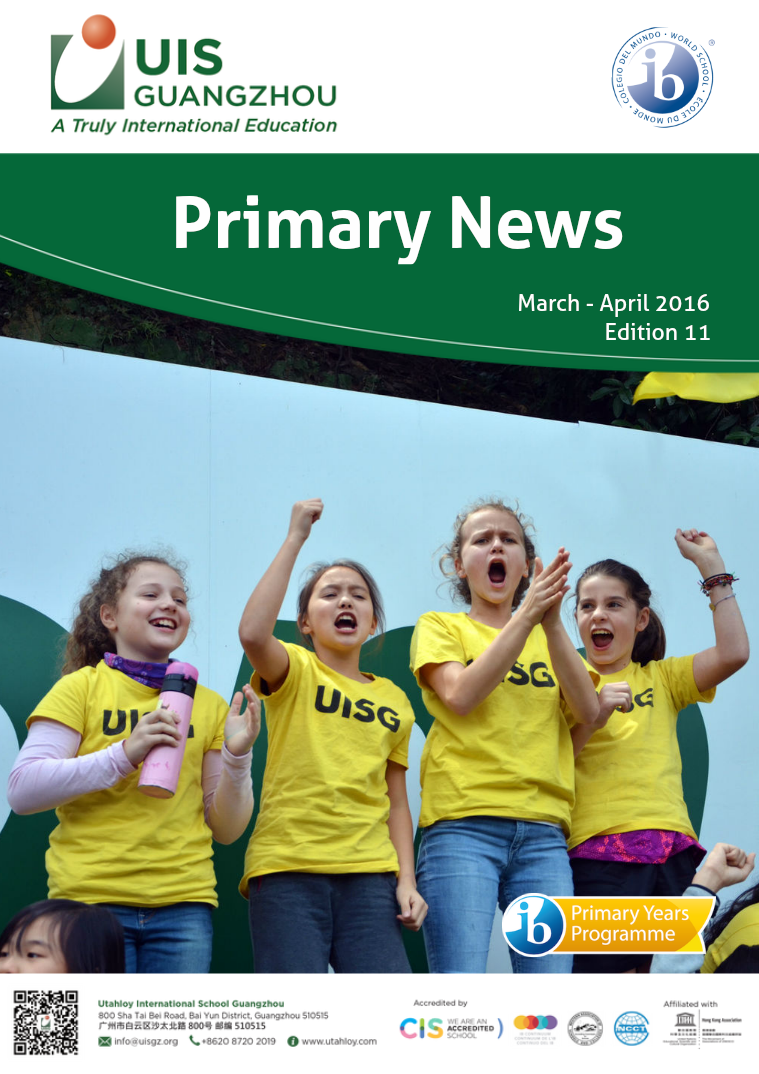 UISG: Primary March-April 2016, Edition 11