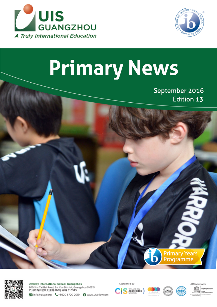 UISG: Primary September 2016, Edition 13