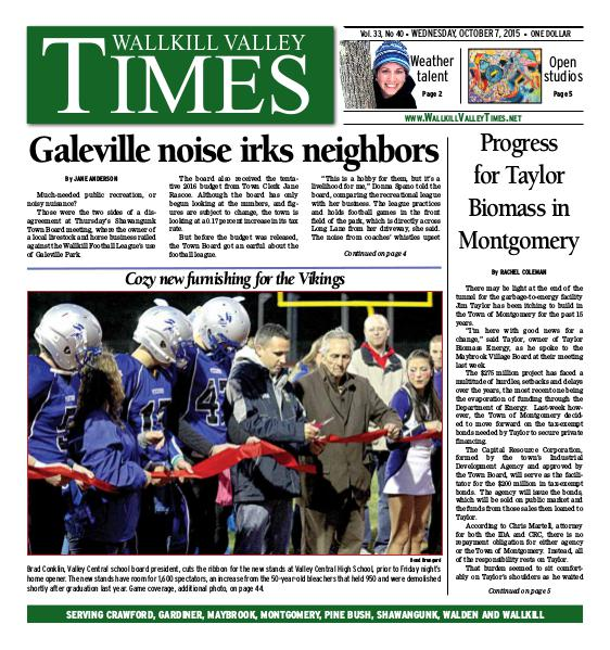 Wallkill Valley Times Oct. 07 2015